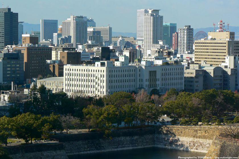 KKRホテル大阪から見た大阪府庁