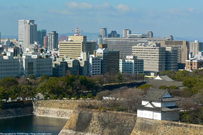 KKRホテル大阪から見た天満橋方面