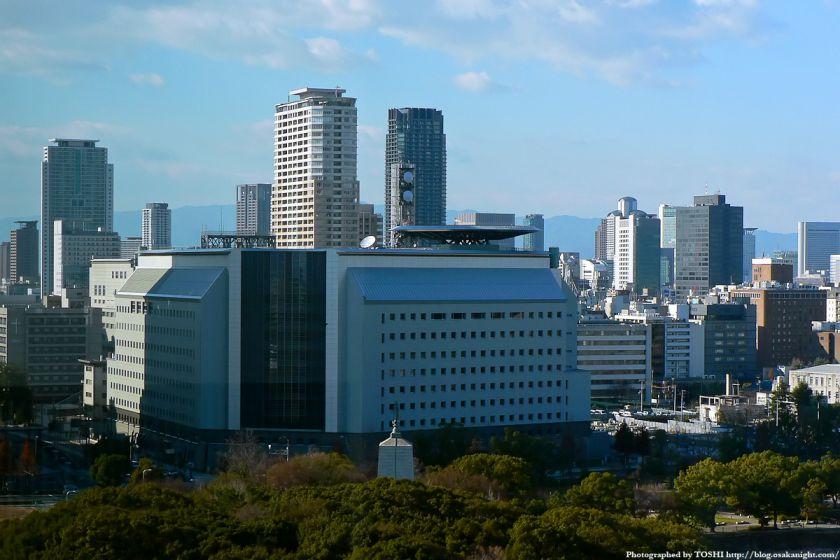 KKRホテル大阪から見た北浜方面