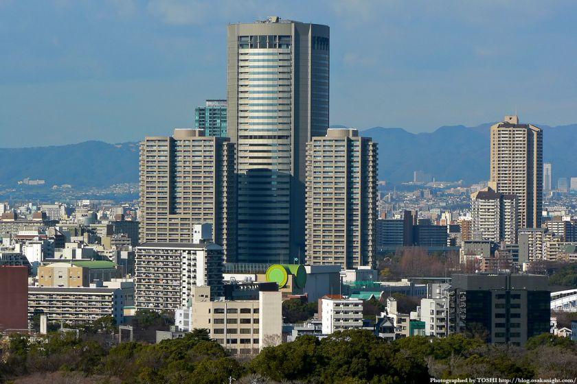 KKRホテル大阪から見たOAP 大阪アメニティパーク