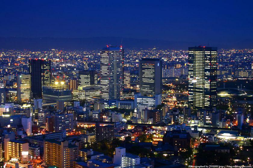 大阪ビジネスパークの夜景 from OAPタワー