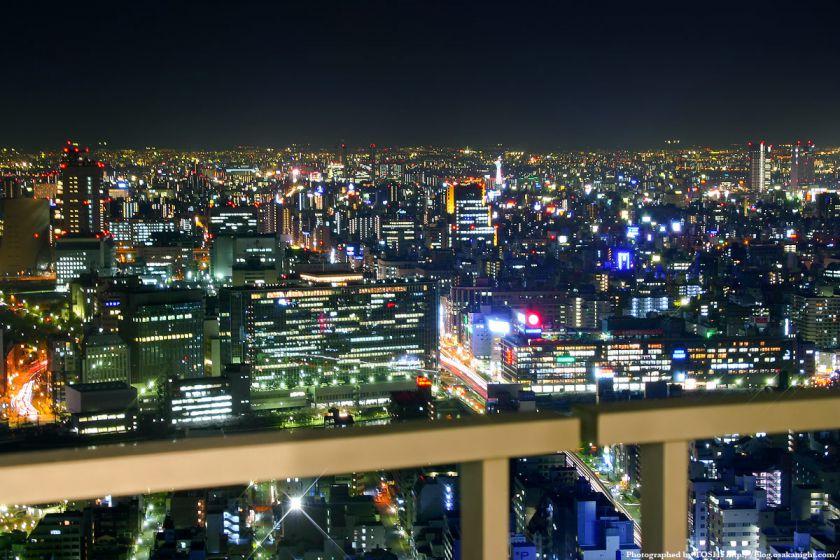 天満橋駅周辺の夜景 from OAPタワー