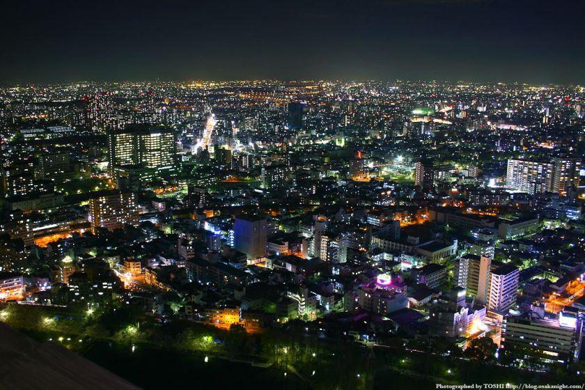 都島区の夜景 from OAPタワー
