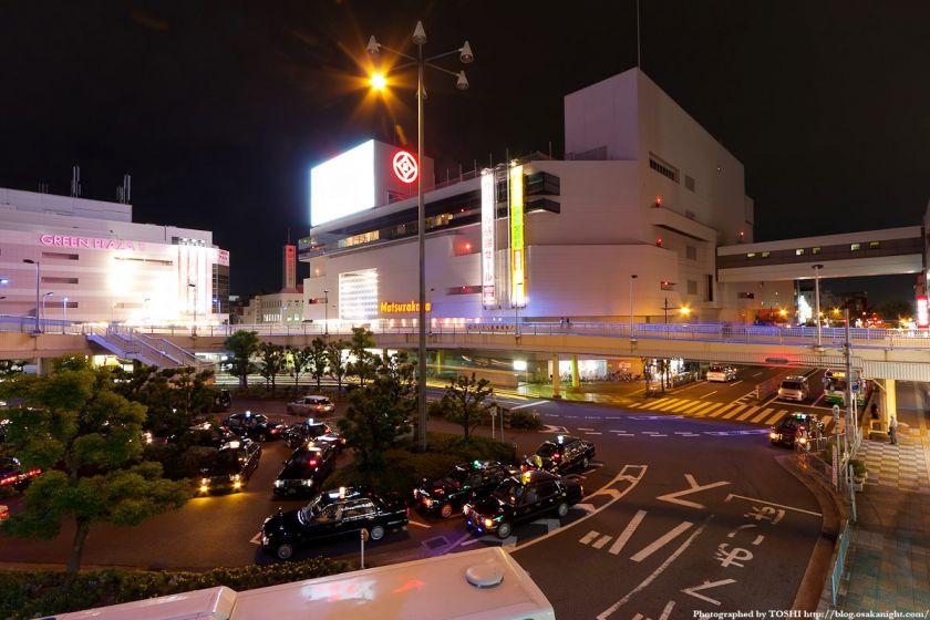 JR高槻駅前の夜景