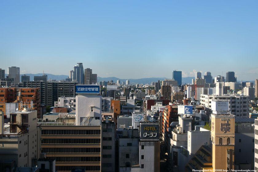 近鉄百貨店上本町店から谷町〜京橋方面