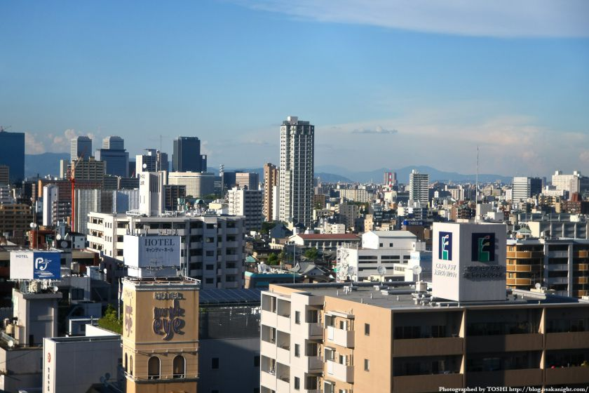 近鉄百貨店上本町店から京橋〜森之宮方面