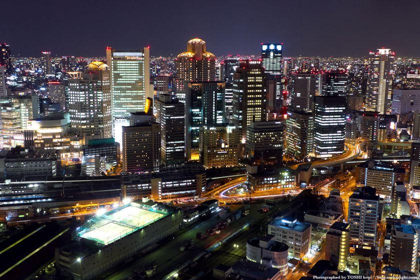 西梅田の夜景 from 梅田スカイビル