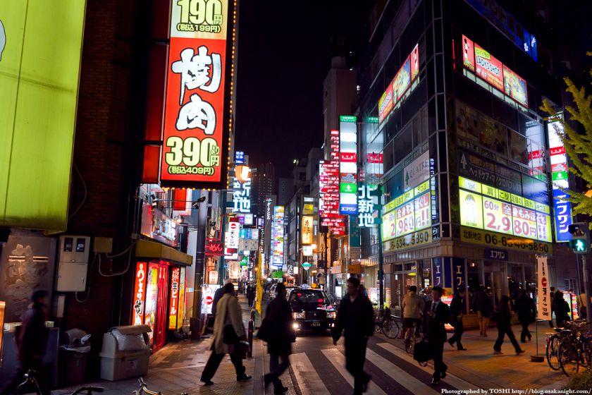 大阪・北新地の夜景 01
