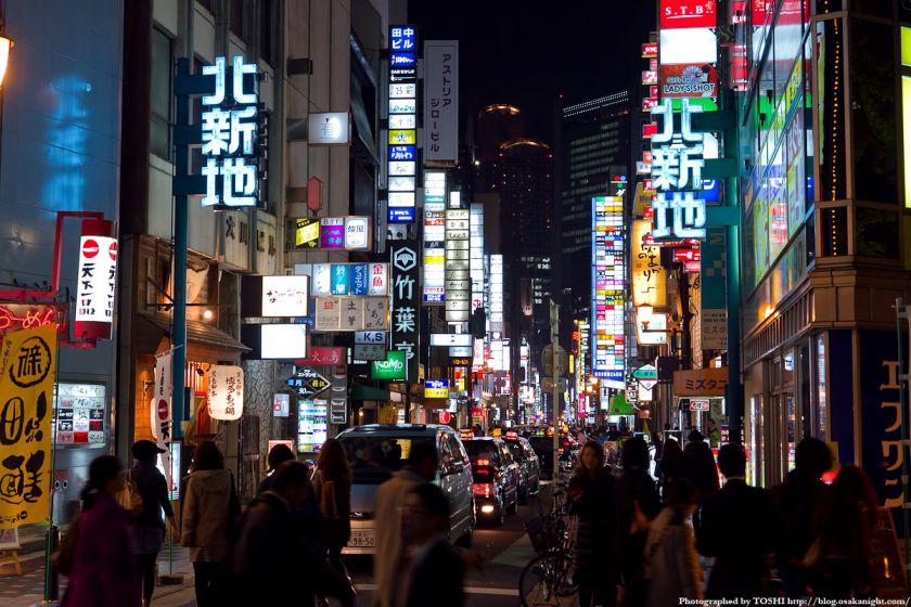 大阪・北新地の夜景 02