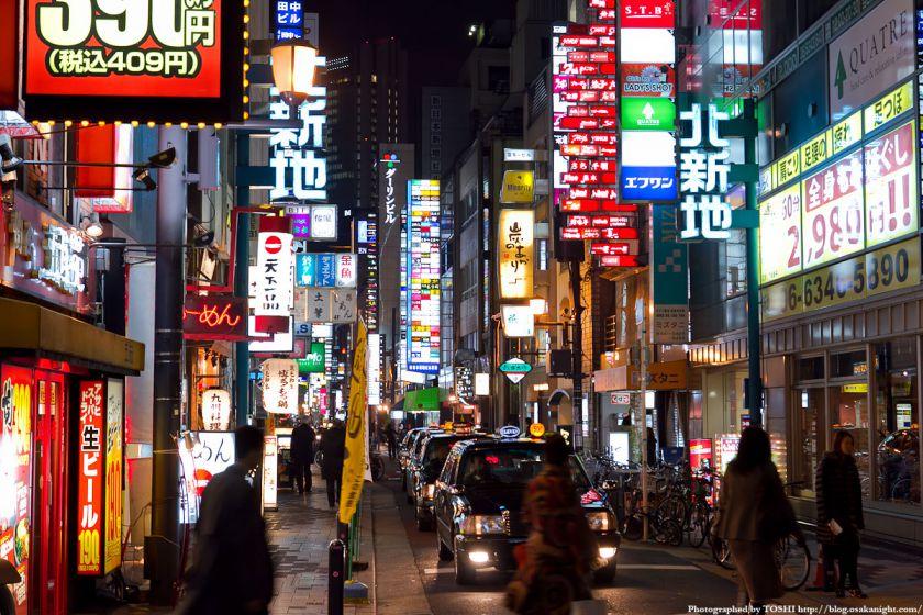 大阪・北新地の夜景 03