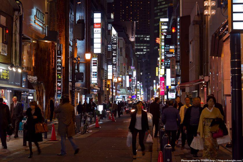 大阪・北新地の夜景 05