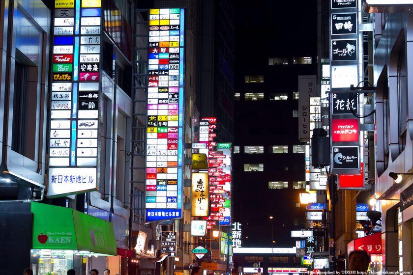 大阪・北新地の夜景 06
