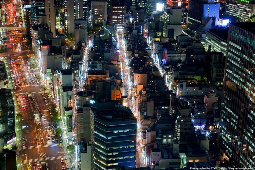 大阪・北新地の夜景 09