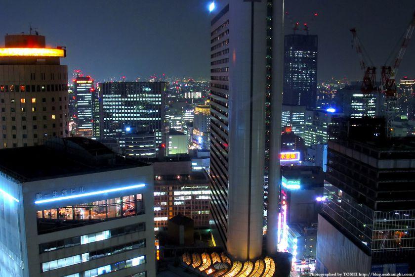 アクティ大阪展望ロビーからの夜景 2003年 03