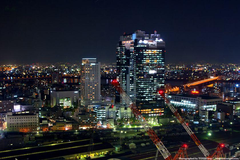 アクティ大阪展望ロビーからの夜景 2008年 05