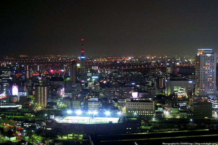 アクティ大阪展望ロビーからの夜景 2003年 06