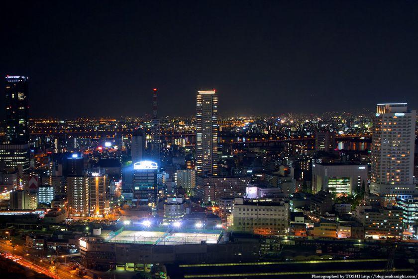 アクティ大阪展望ロビーからの夜景 2008年 06