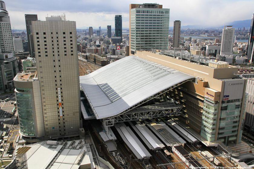 大阪ステーションシティ全景 2011年3月