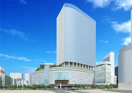 梅田1丁目1番地計画 完成予想パース