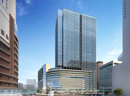梅田1丁目1番計画ビルビル 完成予想パース2