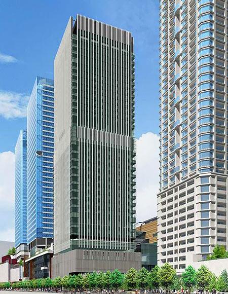 大阪 インターコンチネンタル・ホテル 完成予想イメージ