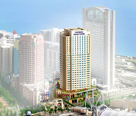 (仮称)ホテルユニバーサルグランドタワー 完成予想パース