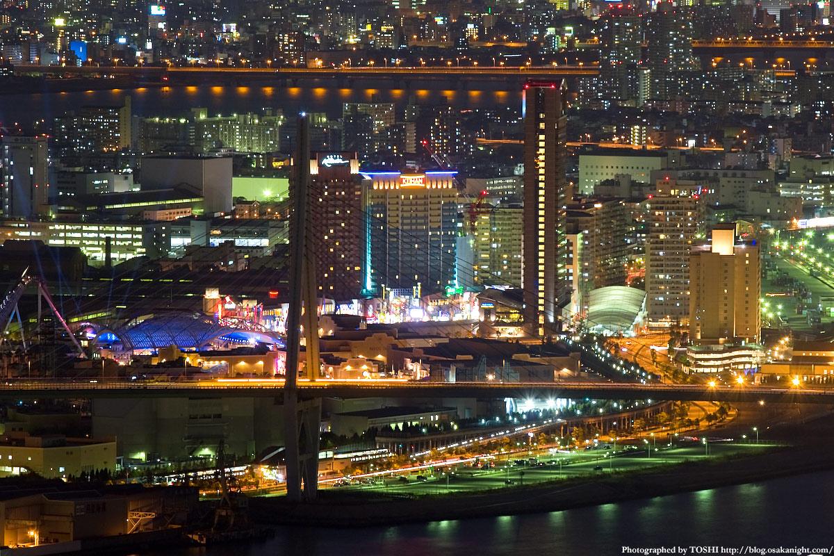 大阪南港 WTCコスモタワー(咲洲庁舎)からの夜景 | 大阪 at Night ...