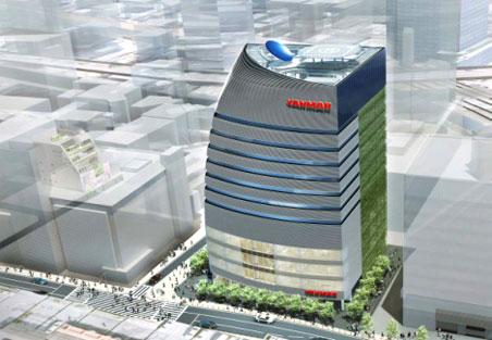 ヤンマーグループ新本社ビル 完成予想パース 01
