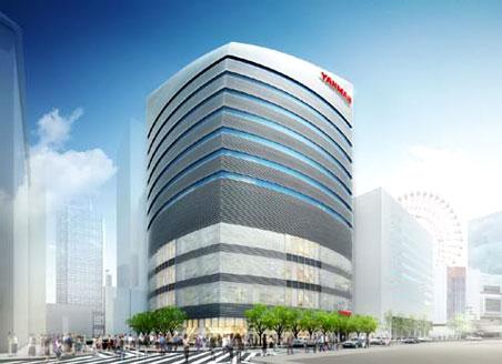 ヤンマーグループ新本社ビル 完成予想パース 02