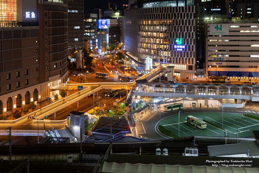阪急阪神連絡デッキ&スカイウォーク 2018年6月