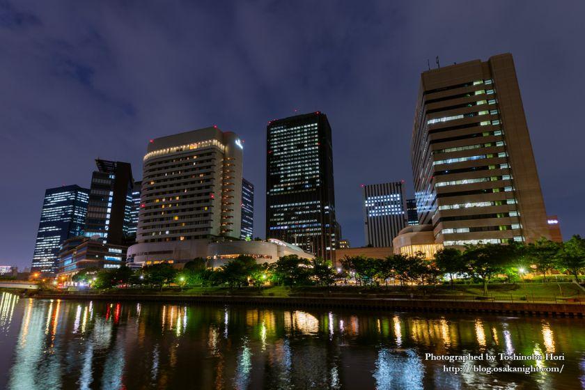 G20大阪サミット2019 開催中の大阪夜景