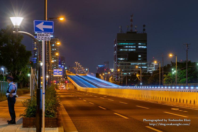 G20大阪サミット2019 中央大通りと阪神高速13号東大阪線 02