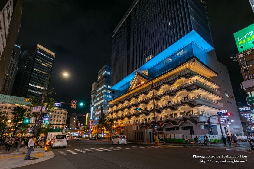 ホテルロイヤルクラシック大阪 ライトアップ 2019年7月 02