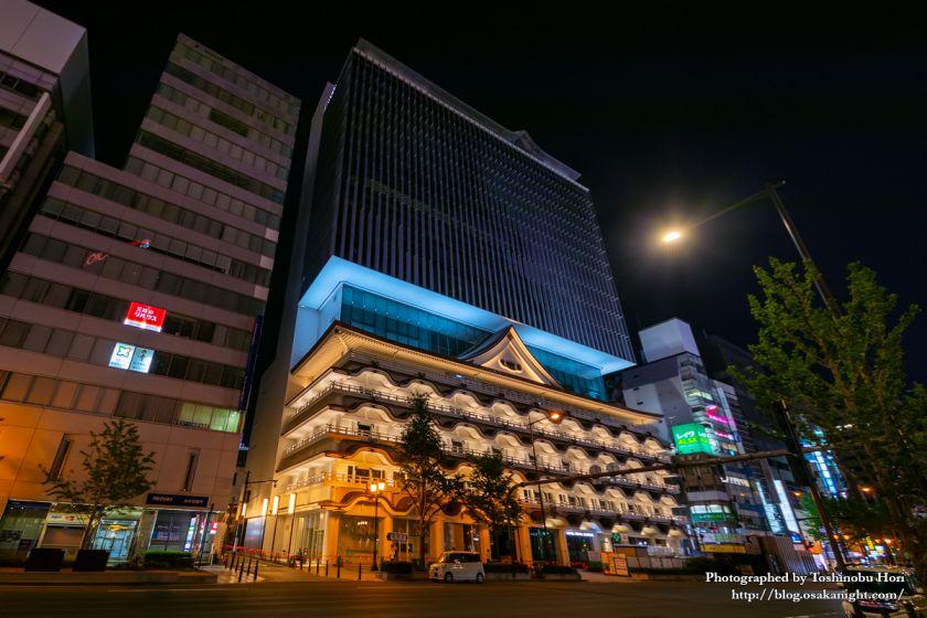ホテルロイヤルクラシック大阪 ライトアップ 2019年7月 03