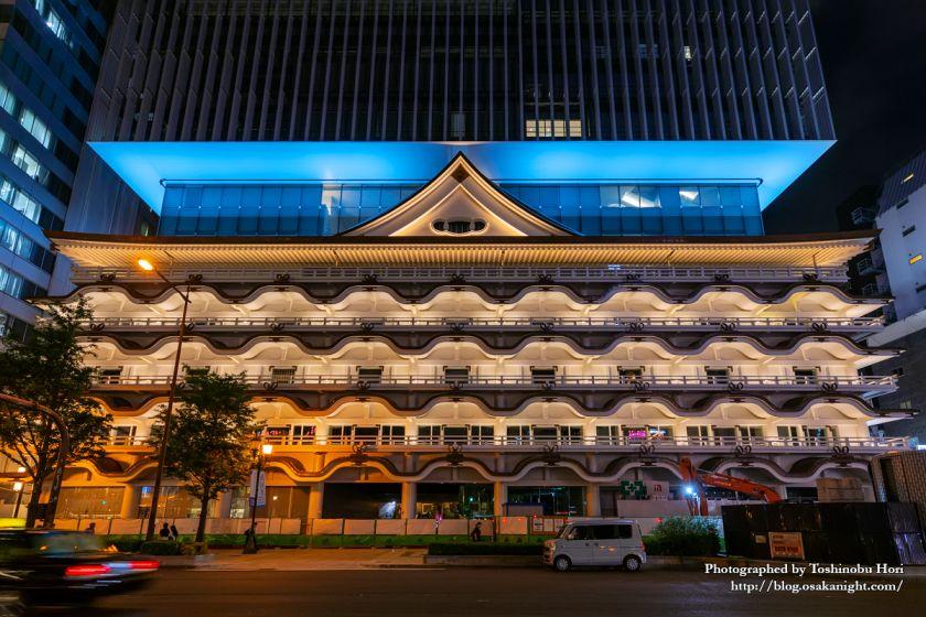 ホテルロイヤルクラシック大阪 ライトアップ 2019年7月 04