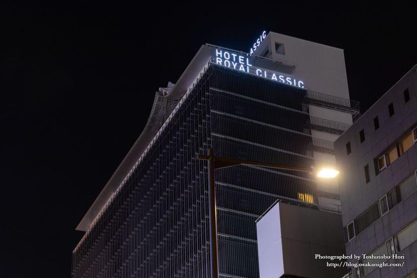 ホテルロイヤルクラシック大阪 ライトアップ 2019年7月 05