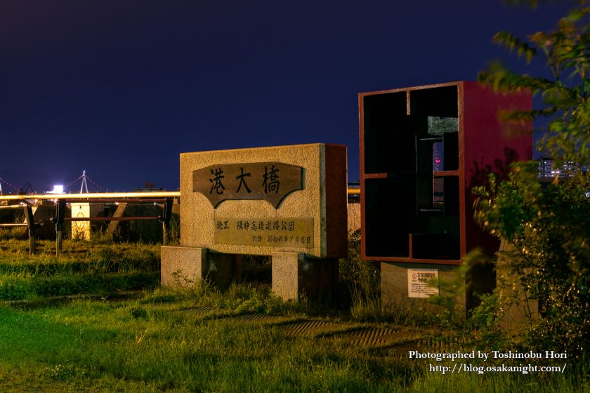 南港三角公園(港大橋臨港緑地) 夜景 2020年5月 01