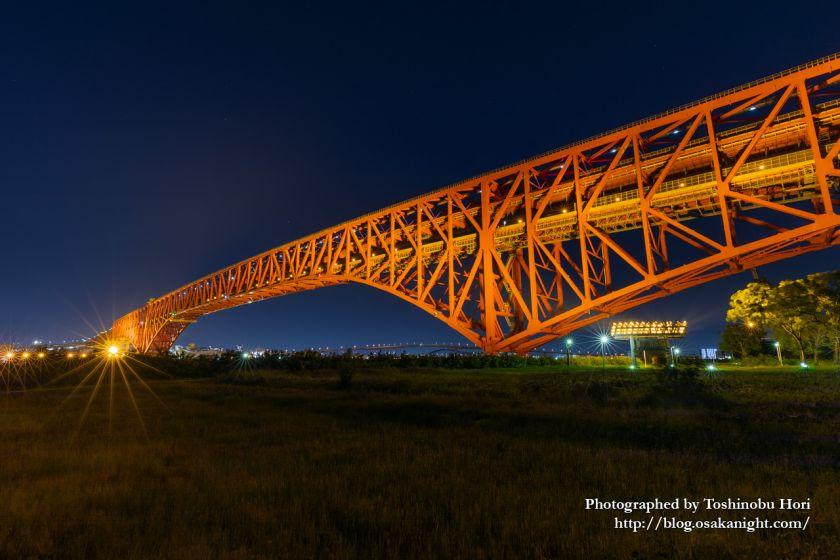 南港三角公園(港大橋臨港緑地) 夜景 2020年5月 03