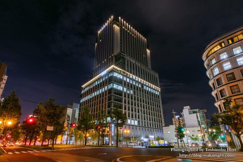 ザ・ロイヤルパークホテル・アイコニック大阪御堂筋 (オービック御堂筋ビル) 夜景