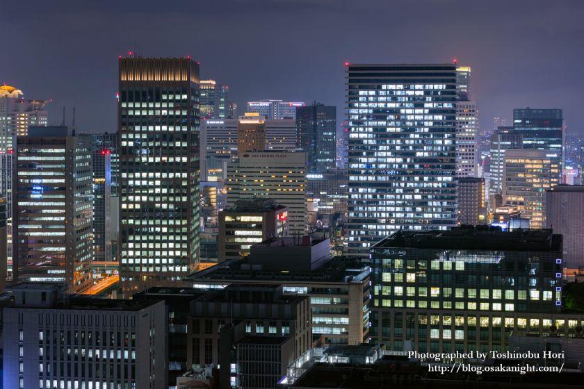 ザ・ロイヤルパークホテル・アイコニック大阪御堂筋からの夜景 中之島セントラルタワー&新ダイビル