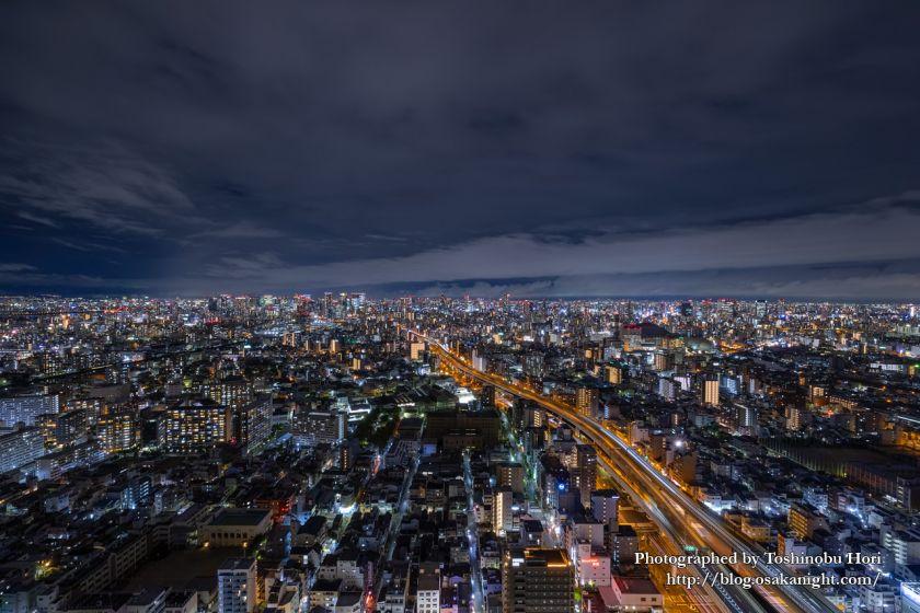 アートホテル大阪ベイタワーからの夜景 シティサイドビュー 2020年9月