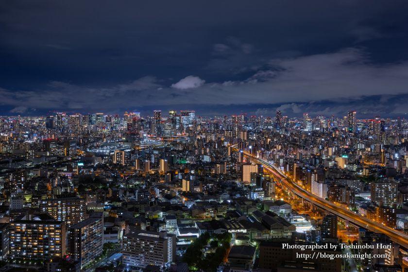 アートホテル大阪ベイタワーからの夜景 シティサイドビュー