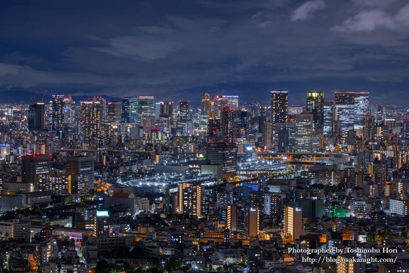 アートホテル大阪ベイタワーからの夜景 梅田~中之島方面 2020年9月