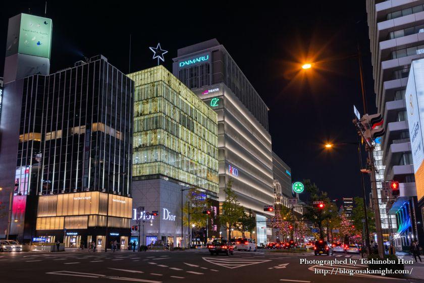 心斎橋パルコ 夜景 2020年11月 01