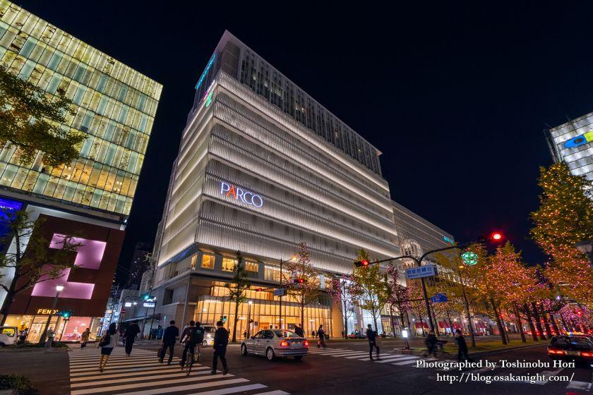 心斎橋パルコ 2020年11月20日に復活再開業 夜景特集