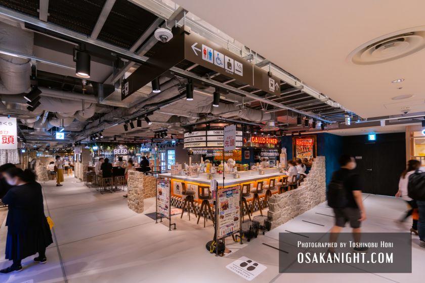 阪神梅田本店2期 建て替え先行オープン 阪神バル横丁 2021年10月