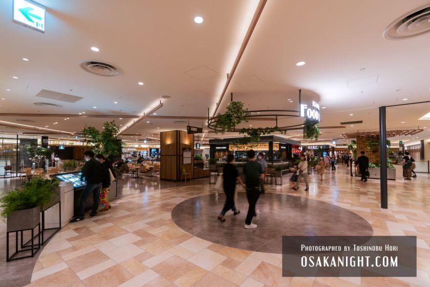 阪神梅田本店2期 建て替え先行オープン 梅田フードホール 2021年10月