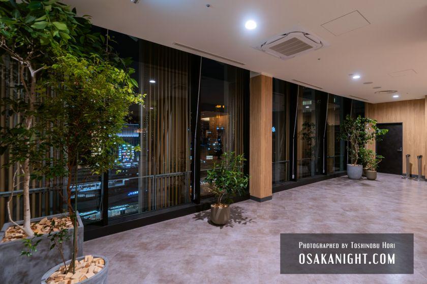 阪神梅田本店2期 建て替え先行オープン 展望スポット 2021年10月 01
